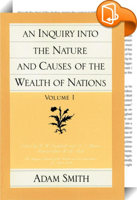 adam smiths the wealth of nations essay