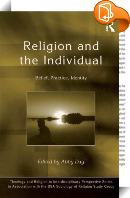 religion and individualism Read christian individualism of philosophy and religion from author augustus hopkins strong find more christian classics for theology and bible study at bible study.