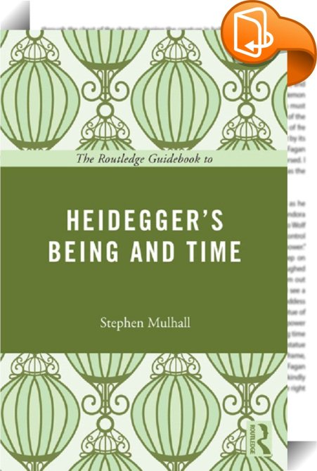 heidegger s being and time the meaning