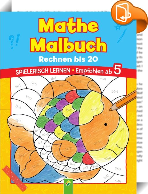 Mathe Malbuch Rechnen Bis 20 Schwager Steinlein Verlag