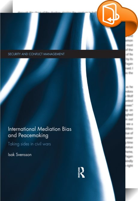 conflict mediation and peacemaking