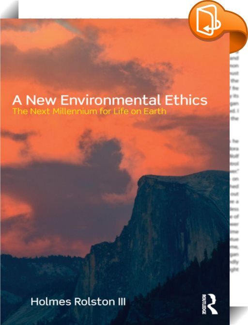 overview environmental ethics