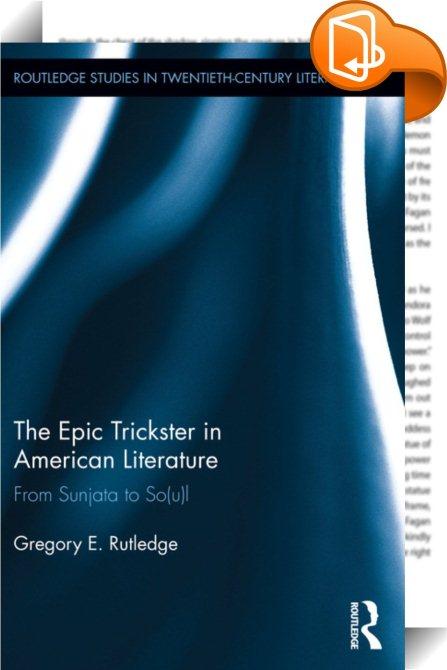 trickster god creator essay