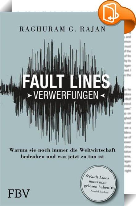 Fault Lines Verwerfungen Rajan Raghuram G Book2look