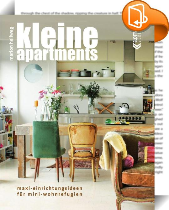 kleine apartments marion hellweg book2look. Black Bedroom Furniture Sets. Home Design Ideas