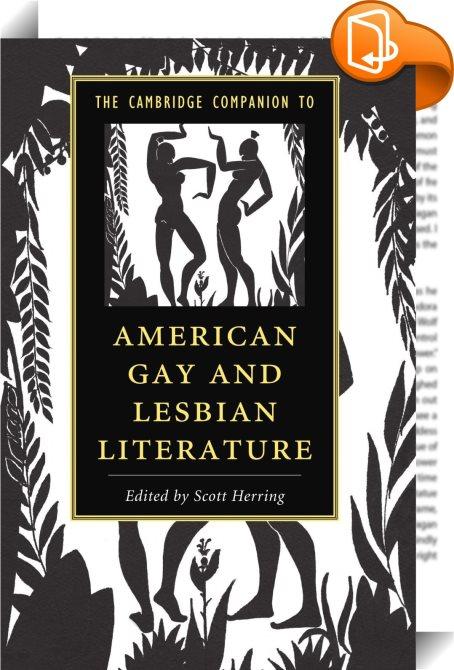 a discussion of gay and lesbian literary category
