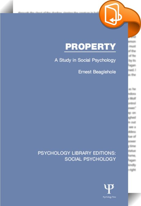 a study of property The leading professional association dedicated to the commons.