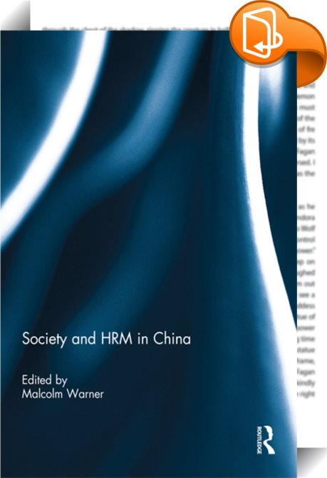 hrm in china Hrm in china presented by thomas li-ping tang, phd at iae de l universite de nantes hrm in china presented by thomas li-ping tang, phd at university of – a free powerpoint ppt presentation (displayed as a flash slide show) on powershowcom - id: 40a1be-yzhlm.